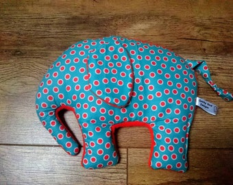 Elephant Wheat Bag, Microwavable, Heating Pad, Hottie, Cool Pack.