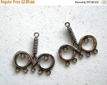 HALF PRICE 2 Chandelier Earring Connectors