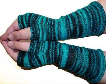 Knit Fingerless gloves | Knitted Fingerless Mittens | Long Arm Warmers | Boho Glove | Women Fingerless | Wrist Warmers |