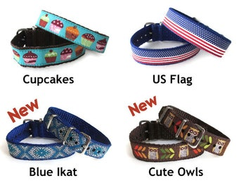 Colorful Embroidered 16mm or 20mm Timex Weekender Replacement Strap, 2 Band Widths