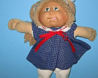 Cabbage Patch Kids, Girl Doll Coleco, Lion Mane