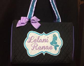 MERMAID  Personalized Diaper Bag