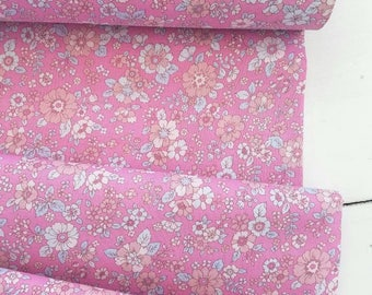 Memoire a Paris Cotton Lawn 2017 - Floral(Pink) - Lecien - Japan, Inc