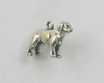 Sterling Silver Labrador Retriever Dog Charm