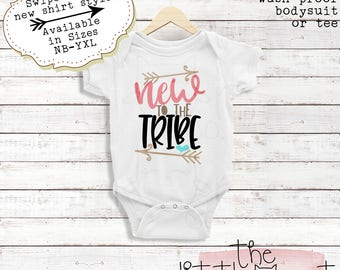 Baby - Baby Girl - Baby Girl Clothes - Baby Gift - Baby Shower Gift - Baby Clothes - Baby Girl Outfit - Baby Girl Gift - New To The Tribe