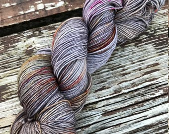 Autumn in Comeragh - made to order - hand dyed 4ply sock yarn