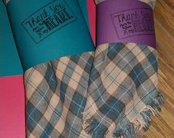 Blanket scarves for mommy!!