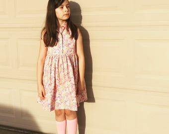 Hattie- spring floral dress