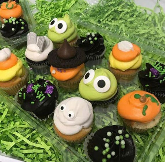 Halloween Mini Cupcake Sampler (PICK UP ONLY!)