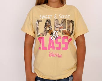 Women's Yellow Sweet & Sassy T-Shirt
