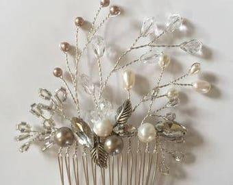Nightingale Bridal hair comb