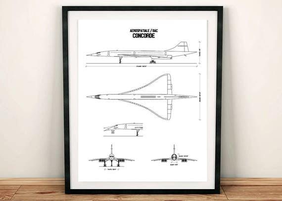 Concorde blueprint concorde blueprint art concorde decor concorde blueprint concorde blueprint art concorde decor instant download concorde wall art printable art aviation art 8x10 11x14 malvernweather Gallery