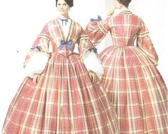 Simplicity 3855 Misses' Civil War Costume Pattern, 8-14