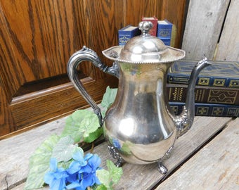 Vintage Sheets R S Co. Silver Plate Coffee Pot