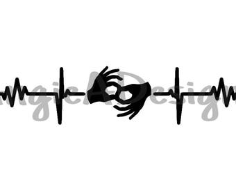 Heartbeat ASL Interpreter SVG