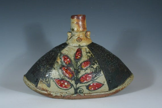 Red Sumac Altered Bottle