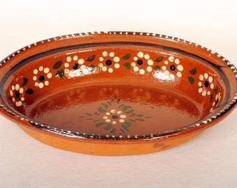 Vintage Tlaquepaque Serving Dish
