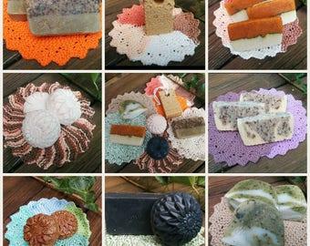 All Natural handmade soap