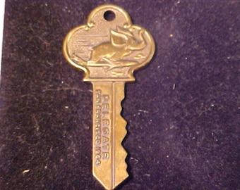Brass Key National Republican Convention San Francisco 1964  Air Transport Association Flying Elephant Club