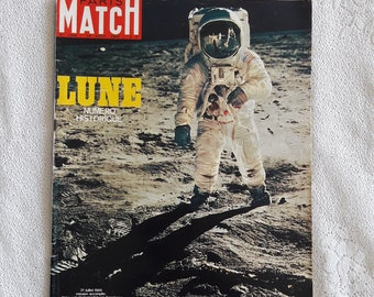 1969 -16 Août / August  - Paris Match French Magazine - Historic Issue - No 1058