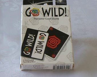 Go Wild ! Fast Paced Wild-Card Game Wizards Of The Coast 1998
