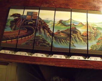 miniature china wall screen  =