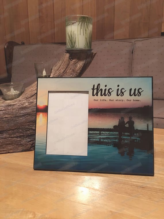 This is us Picture Frame, This is us frame, Wedding gift, Newlywed gift frame, family picture frame, Personalized Family Frame