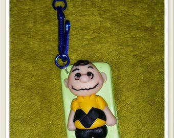 Keychain featuring Charlie Brown