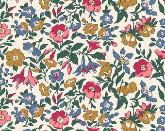 Fabric -Liberty  - The English Garden - Mamie - Quilters weight cotton