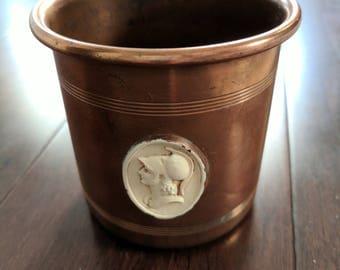 Arts & Crafts Benedict Copper Cup