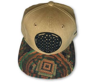 Flower Of Life Snapback Hat (Density Series)