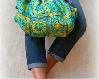 Tropical bag crochet pattern