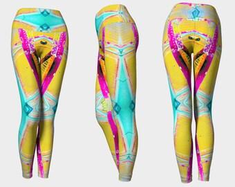 07574 Yoga Leggings: Under the Bridge Photography. Yoga Tights, Running Tights, Yoga