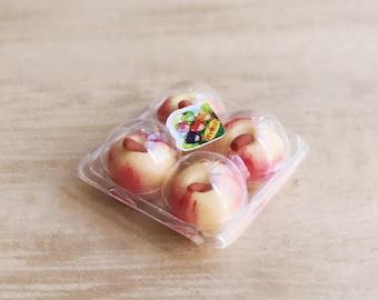 Miniature Apples in Plastic Pack,Miniature Apples,Dollhouse Apple,Miniature Fruit,Miniature Plastic Pack,Dollhouse fruit,Red Apple