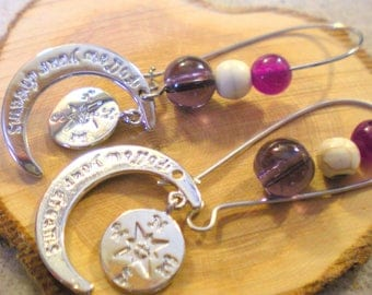 Kit was GdE BO * of Crescent Moon purple * silver plated
