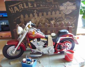 New Harley Davidson TENDER LOVING CARE Ertl Statute Sculpture Figurine