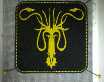 House Greyjoy Embroidered Patch