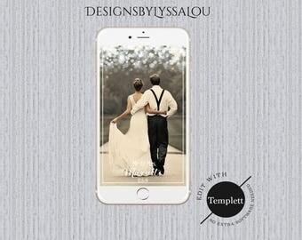 Wedding Snapchat Filter, Rustic Snapchat Geofilter, Wedding Filter, Custom Geofilter, Snapchat Wedding, Wedding Geofilter, Snapchat,You Edit