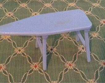 Vintage Dollhouse Renwal Blue Ironing Board
