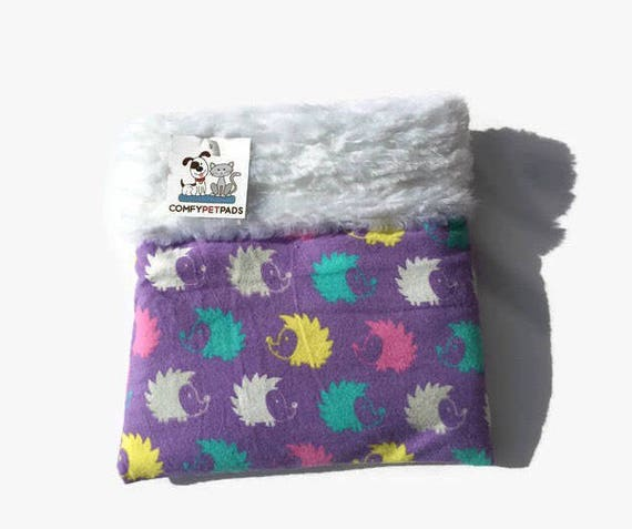 Hedgehog Snuggle Sack, Chinchilla Cave, Cuddle Bag, Small Animal Bedding, Carrier Pouch, Sugar Glider Pouch, Cozy Den, Hamster Bedding