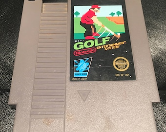 Golf 1985 NES Nintendo Entertainment System Video Game