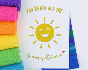 PDF - You Bring Out The Sunshine - *Instant Download*