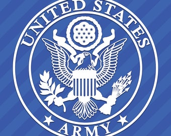 United States US Army Seal Vinyl Decal Sticker America Military