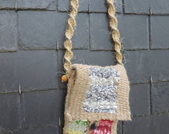 Hand Woven shoulder bag for your tablet/ipad
