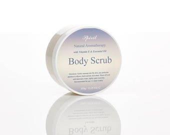 Salt Body Scrub - Essential Oil - Body Care - Gift For Her - Spa - Gift Set