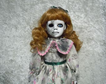 Scary Doll #137 Creepy Doll Spooky Doll Horror Collectible Day of the Dollies