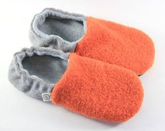 Kids Slippers- Boy Gifts- Wool Slippers- Eco Friendly Kids Gift- Classroom Shoes- Get Well Gift- Cozy Gift