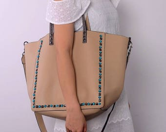 Monogram handbag