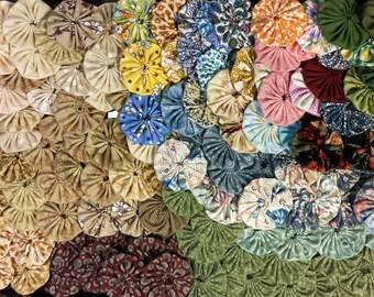 Fabric YoYos x 142