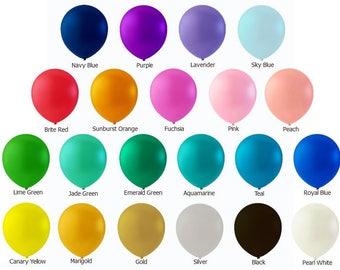 "5"" Mini Balloons- set of 12"